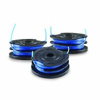 Toro 88528 3-pack Dual Line Replacement Spool For 48-volt Trimmer, 0.065-inch ,