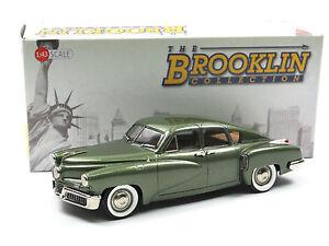 Brooklin-models-BRK-222b-1948-Tucker-48-torpedo-Green-codigo-300-1-43