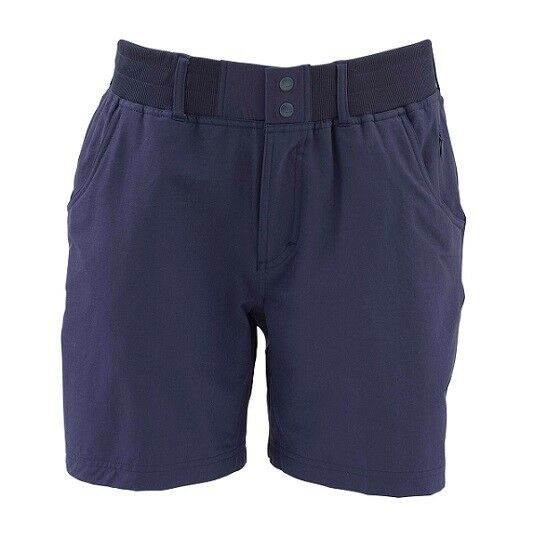 SALE Simms Woman's Drifter Short Oxford bluee Sm NEW FREE SHIPPING
