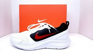Nike-Men-039-s-Todos-Running-Shoes-White-Red-Black-Size-10-5-Brand-New-with-Box
