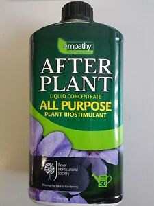 Details about Empathy AfterPlant All Purpose Food Liquid with Biostimulant  1ltr - RHS endorsed