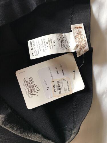 abito sm nwt Nicol Di 225 premaman Black 42 med Veronique Caramel Pantaloni Italia BX6HUznz