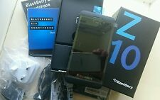 BLACKBERRY Z10 16GB BLACK NEW BOXED SEALED MOBILE PHONE UNLOCKED FREE 24HR POST