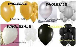WHOLESALE BALLOONS 10-100 Latex BULK PRICE JOBLOT Quality Any Occasion BALLONS a