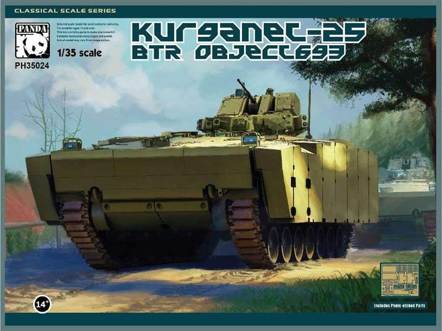 Panda Hobby 1 35 Kurganec-25 BTR Object 693  New releaseSealed