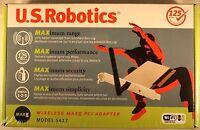 U.s. Robotics Wireless Maxg Pci Adapter Usr5417 Nip 738168036943