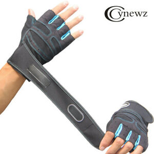 Men-Women-Weight-Lifting-Gloves-Bodybuilding-Fitness-Wrist-Wrap-Gym-Training