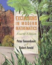 Excursions in Modern Mathematics (4th Edition) Tannenbaum, Peter, Arnold, Rober