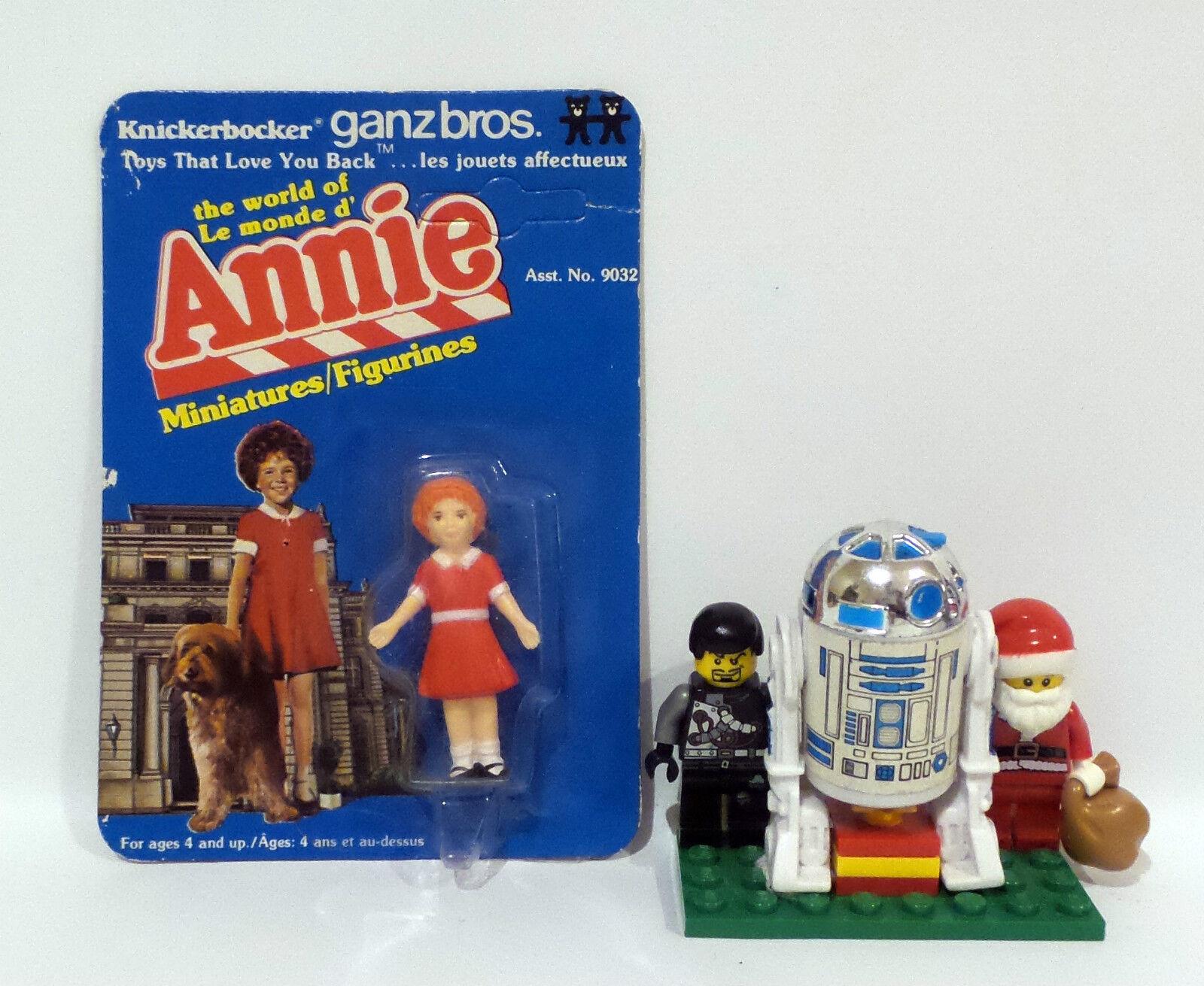 ANNIE   ANNIE CARDED MINIATURE FIGURNE MADE BY GANZ BROS. 1981 (TK)