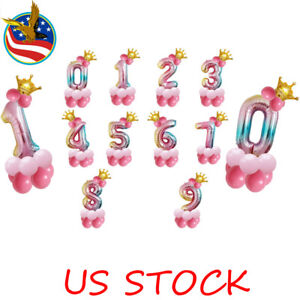 14-Pcs-Kit-Foil-Balloons-Numbers-Crown-Birthday-Party-Photo-Decor-Rainbow-Color