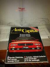 AUTOCAPITAL #1 1990 MASERATI SHAMAL  RENAULT R8 GORDINI 1300 + ALLEGATO MYTHOS