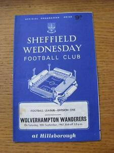 30091967 Sheffield Wednesday v Wolverhampton Wanderers  slight mark on front - <span itemprop=availableAtOrFrom>Birmingham, United Kingdom</span> - Returns accepted within 30 days after the item is delivered, if goods not as described. Buyer assumes responibilty for return proof of postage and costs. Most purchases from business s - Birmingham, United Kingdom