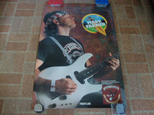 Mark Farner---Just Another Injustice---Poster---24x36--Rolled--Very Hard To Find