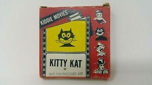 Atlas Films Inc. 8 MM Kiddie Movies 50 Ft. Kiddy Kat In KK7-The Doctors Aid Box