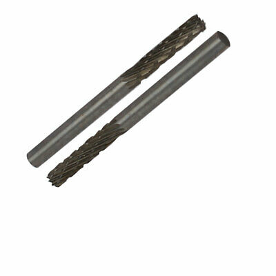 uxcell Carbide Burrs Single Cut Rotary Burrs File Ball Shape Cutting Burrs with 1//8 Shank 4mm Head for Die Grinder Bits