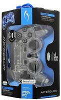 Afterglow Blue Lighting Wireless Controller For Ps3 & Pc