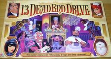 13 Dead End Drive Board Game 100% COMPLETE! RARE! MINT CONDITION! Vintage 1993