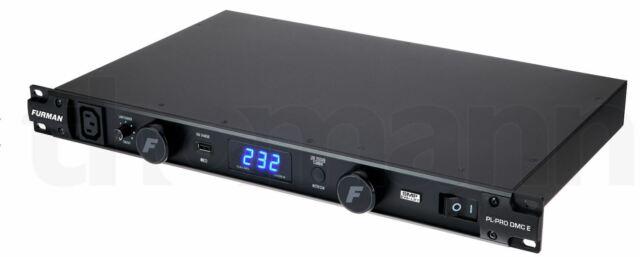 Furman PL-PRO DM C E 16A Power Conditioner with Lights, Volt/Ammeter, 220V-240V