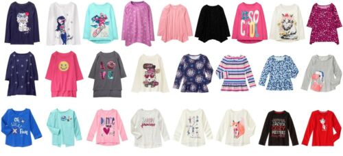 NEW Gymboree girls long sleeve tee size 4 5 6 7 8 YOU PICK Fall Winter