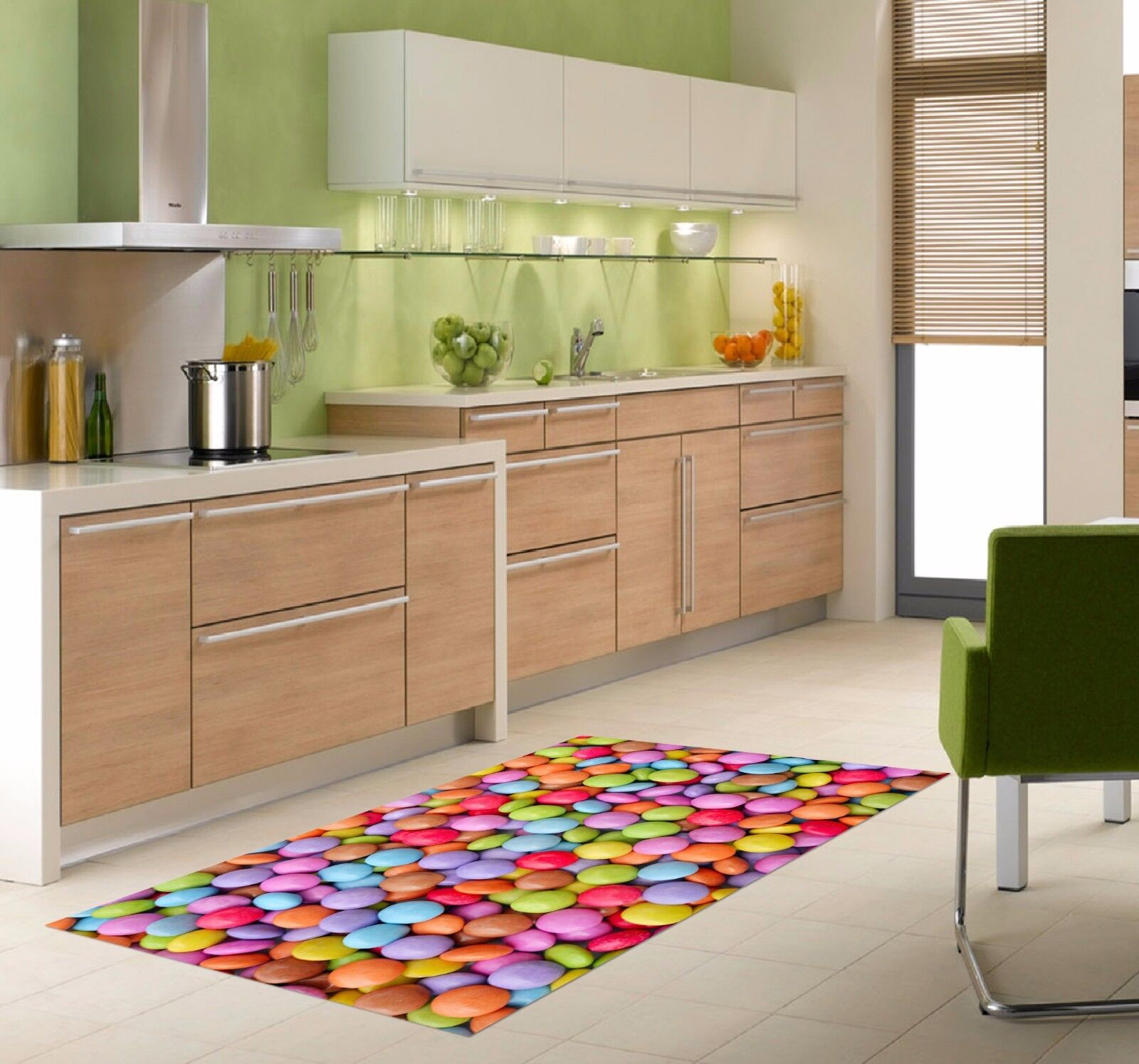3D color Candy 756 Kitchen Mat Floor Murals Wall Print Wall AJ WALLPAPER UK Kyra