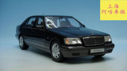 1/18 Benz S S600 W140 1994 Die Cast Model RARE Black