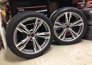 20-in-environ-50-80-cm-Wheels-Fit-BMW-F01-F02-F07-F10-F11-F12-433-style-5x120-pneus-245-275