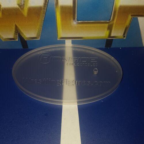 Soporte de exhibición Ringside-Accesorios WWE Lucha Libre Action Figures Clear