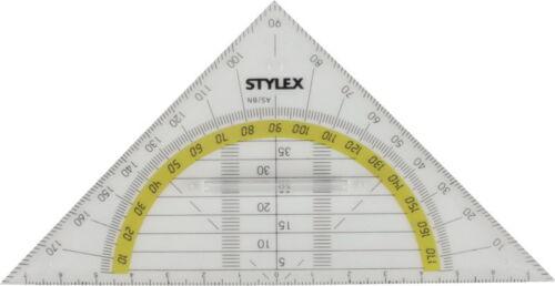 mit Griff Geo-Dreieck Geometriedreieck 16cm