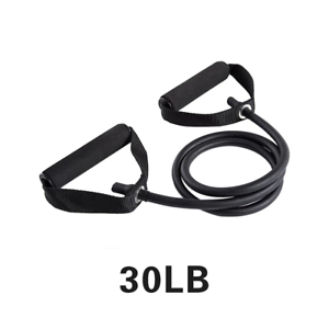 120cm Yoga Pull Rope Resistance Exercise Bands Fitness Elastic Equipment Rubber