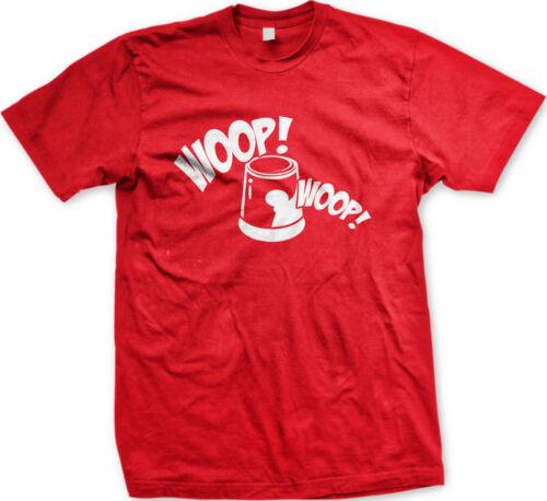 Woop Woop Siren Police Department Officer Cop Serve Protect Car Men/'s T-Shirt