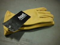 Ansell Hawkeye Cowhide Leather Glove 46-301 276063 Size Small