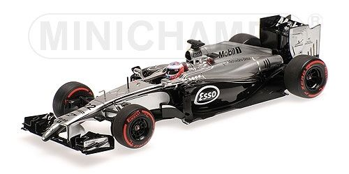 Mclaren mercedes mp4 29 jenson button Malaysian gp 2014 1 43 Model Minichamps