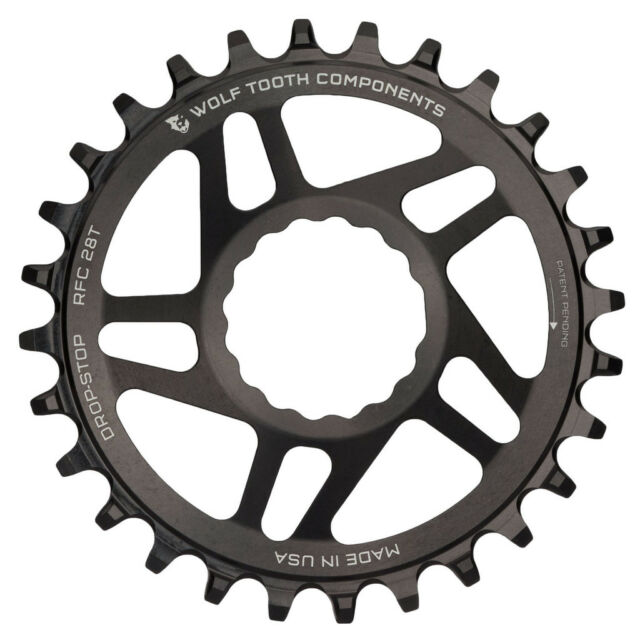 Wolf Tooth DropStop Race Face Cinch Direct Mount DM Chainring 1x - 30T - Black