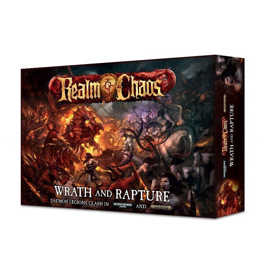 Warhammer Realm of Chaos  Wrath and Rapture GW WD-60 NIB