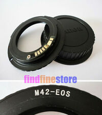 AF Confirm M42 Lens to Canon EOS EF adapter 7D 350D 500D 1000D 1100D rebel + CAP