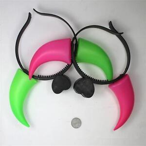 1x-OX-Horn-Plastic-Lighting-Glow-Hair-Clasp-Cosplay-Party-Halloween-Headbands-01