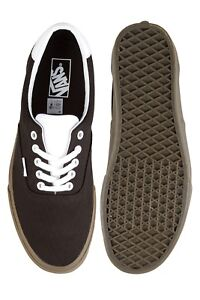 Image is loading Vans-ERA-BLEACHER-BLACK-GUM-Canvas-Men-Casual- 4d624b29e0