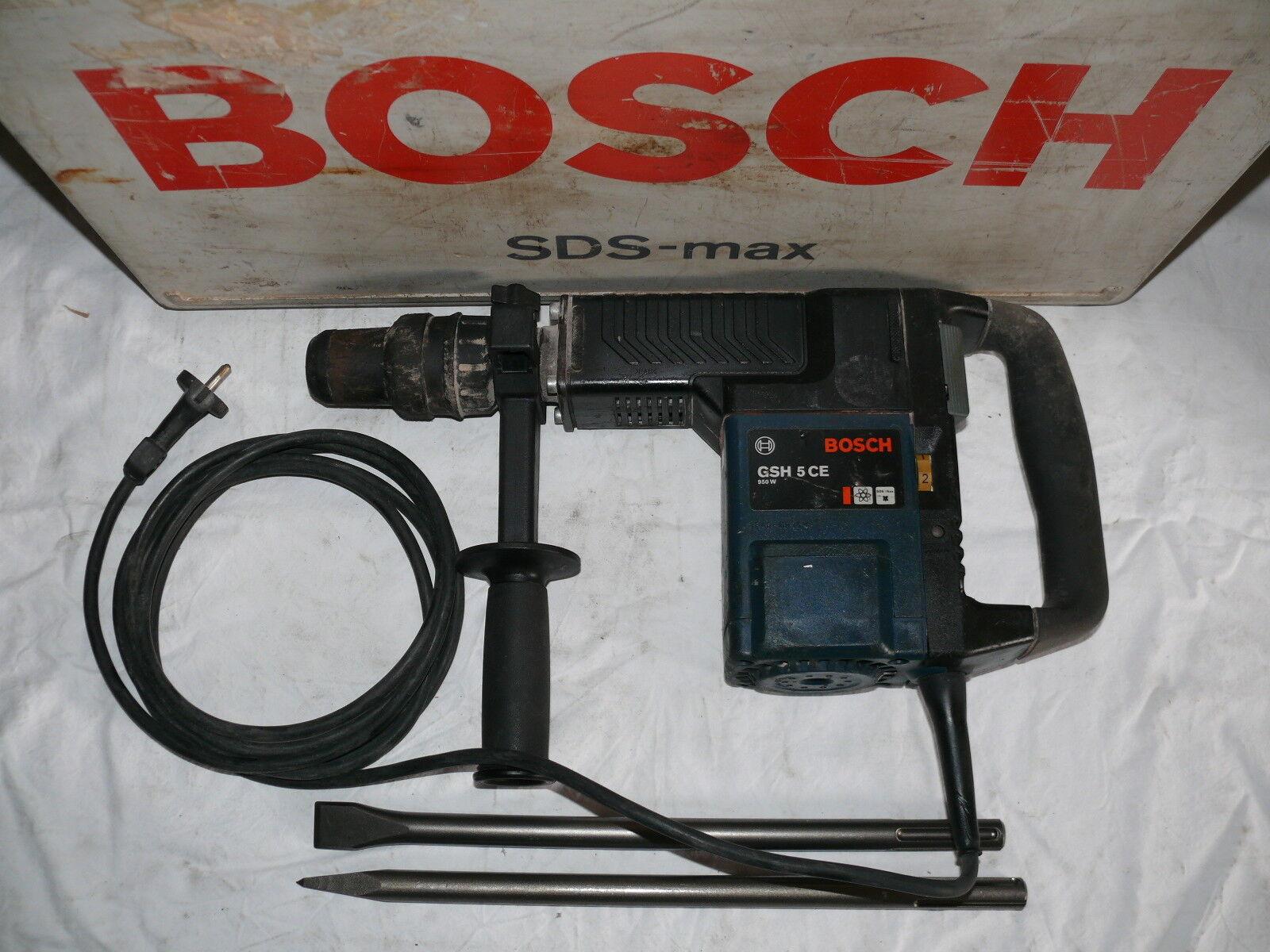 Bosch GSH 5 CE MEISSELHAMMER STEMMHAMMER SCHLAGHAMMER BOSCHHAMMER ABBRUCHHAMMER