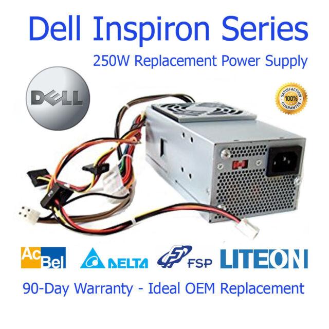 Dell Inspiron 540s Slimline / SFF 250w Repuesto Power Fuente dps-250av-79A