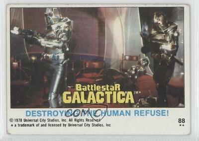 Non-sport Trading Cards Card 0a1 Cheap Sales 50% 1978 Topps Battlestar Galactica #88 Destroying The Human Refuse