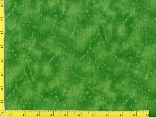 Green Starry Swirl Blender Quilting Fabric by the Yard #418