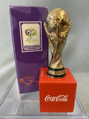 Coca-Cola Exxon-Mobile Germany 2005 FIFA World Cup Football Mini Trophy