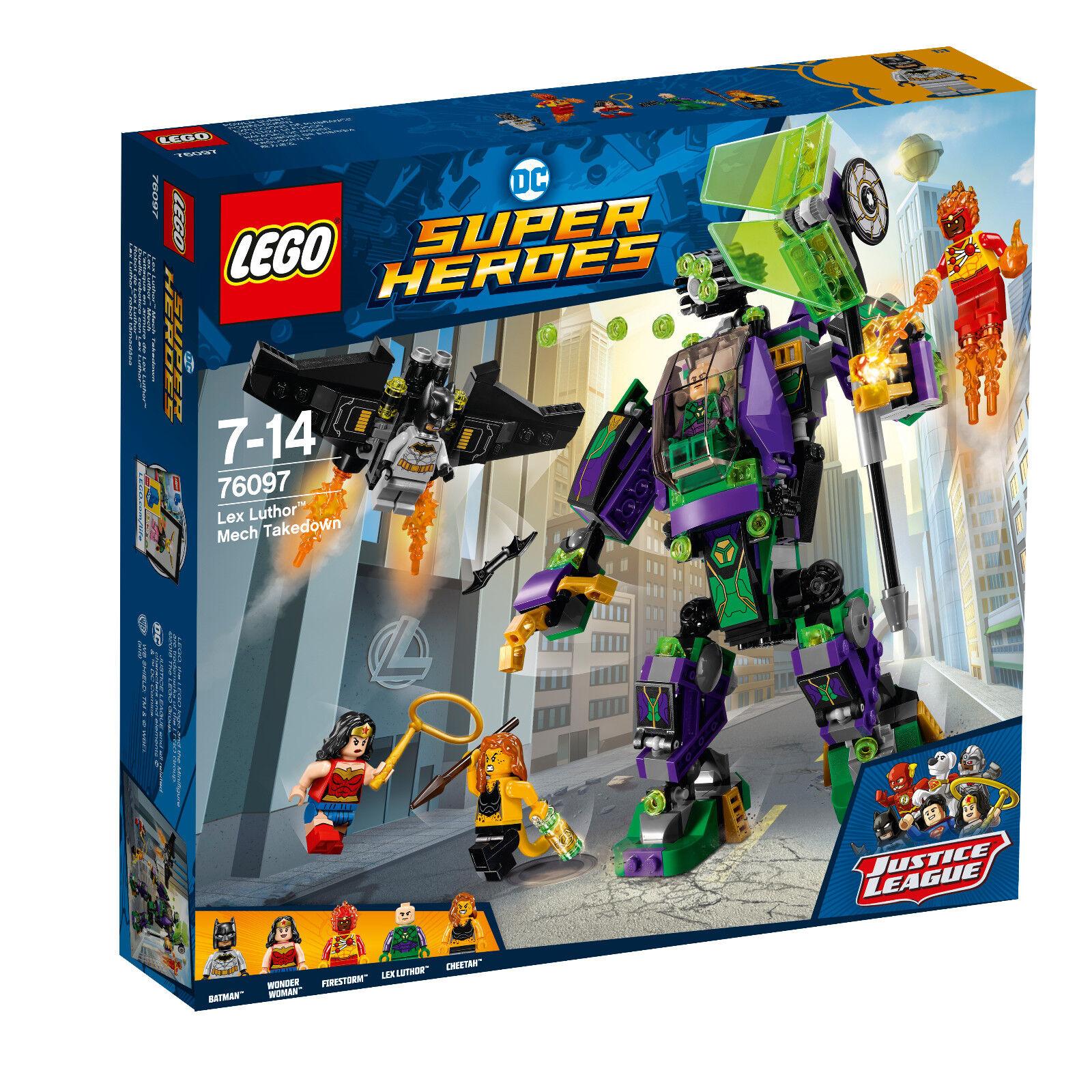 LEGO® DC Comics™ Super Heroes (76097) Lex Luthor Mech inkl Versand Neu&Ovp