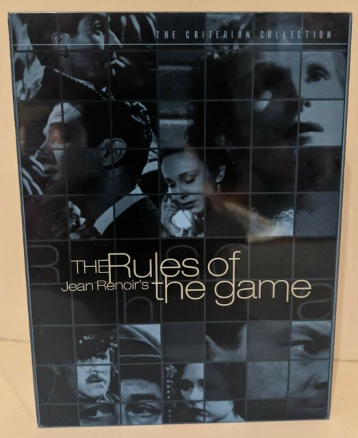 The Rules of the Game (2 DVD, 1961, Criterion Collection, Region 1/A NTSC)