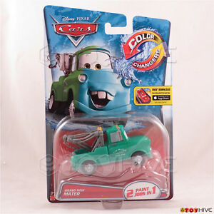 Disney Pixar Cars Color Changers Brand New Mater Vehicle