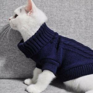 Winter-Hund-Kleidung-Welpe-Haustier-Katze-Pullover-Jacket-Mantel-Kleine-Hunde