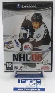 NHL-06-Nintendo-GameCube-wii-PAL-Francais-NEUF-blister