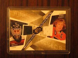2008-09-SPx-Winning-Combos-Gold-99-Ron-Hextall-Bobby-Clarke-Philadelphia-Flyers