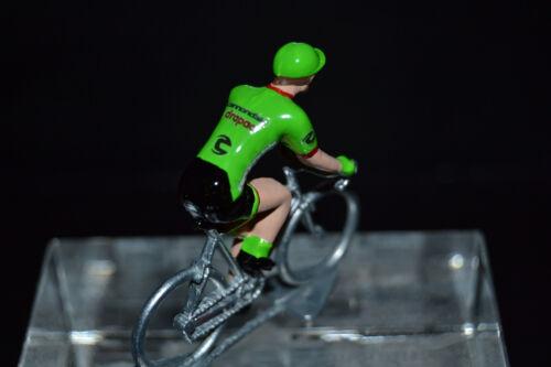 Cycling figure Petit cycliste Figurine Cannondale Drapac 2017