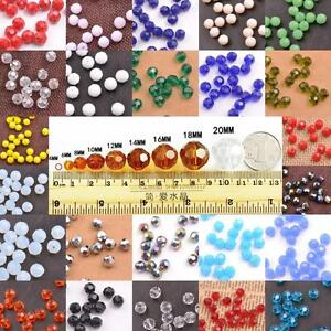 Top-Quality-Czech-Crystal-Faceted-Rondelle-Spacer-Beads-3MM-4MM-6MM-8MM-10MM